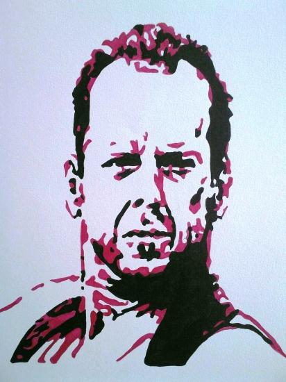 Bruce Willis por amandouPaint
